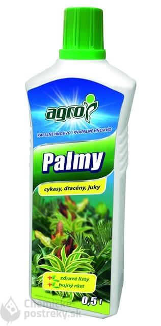 AGRO KVAPALNÉ HNOJIVO PALMY A ZELENÉ RASTLINY 500 ml