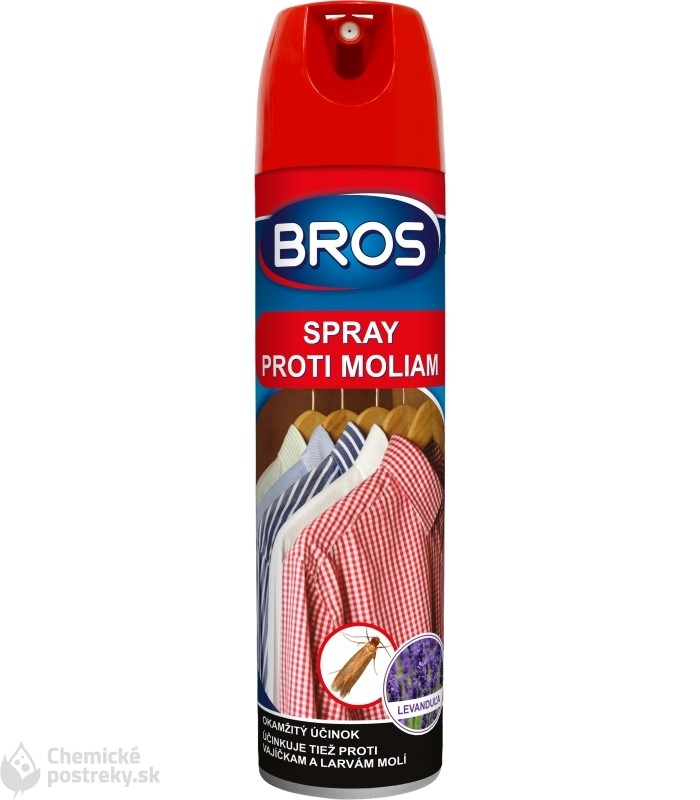 BROS SPRAY PROTI MOLIAM 150 ml