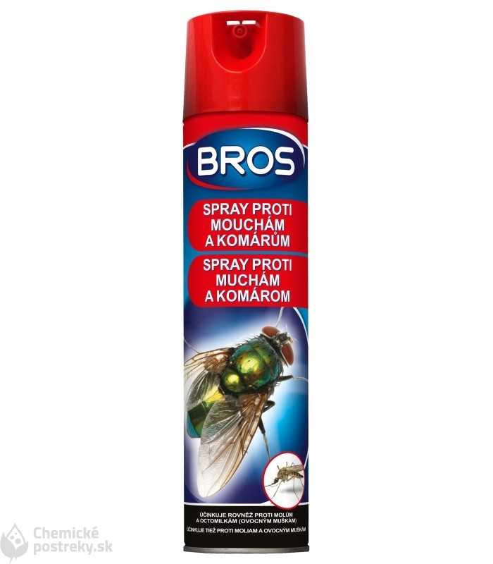 BROS SPRAY PROTI MUCHÁM A KOMÁROM 400 ml