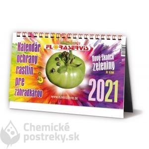 KALENDÁR PRE ZÁHRADKÁROV 2021