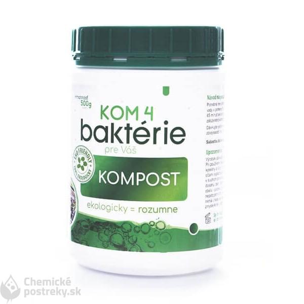 KOM 4 baktérie kompost 500 g