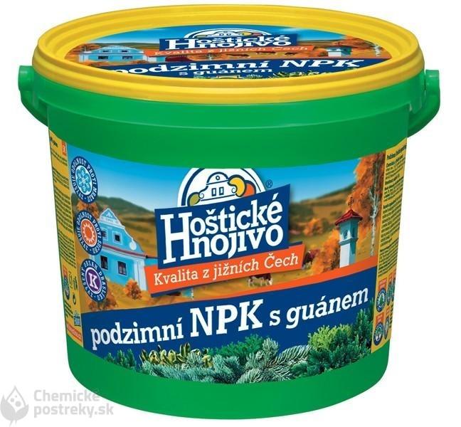HOŠTICKÉ NPK HNOJIVO S GUÁNOM JESENNÉ 4,5 kg
