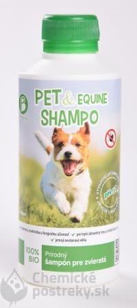 PET & EQUINE SHAMPO – Prírodný šampón pre zvieratá