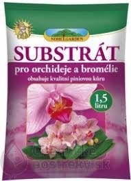 NOHEL GARDEN SUBSTRÁT PRE ORCHIDEY A BROMÉLIE 1,5 L