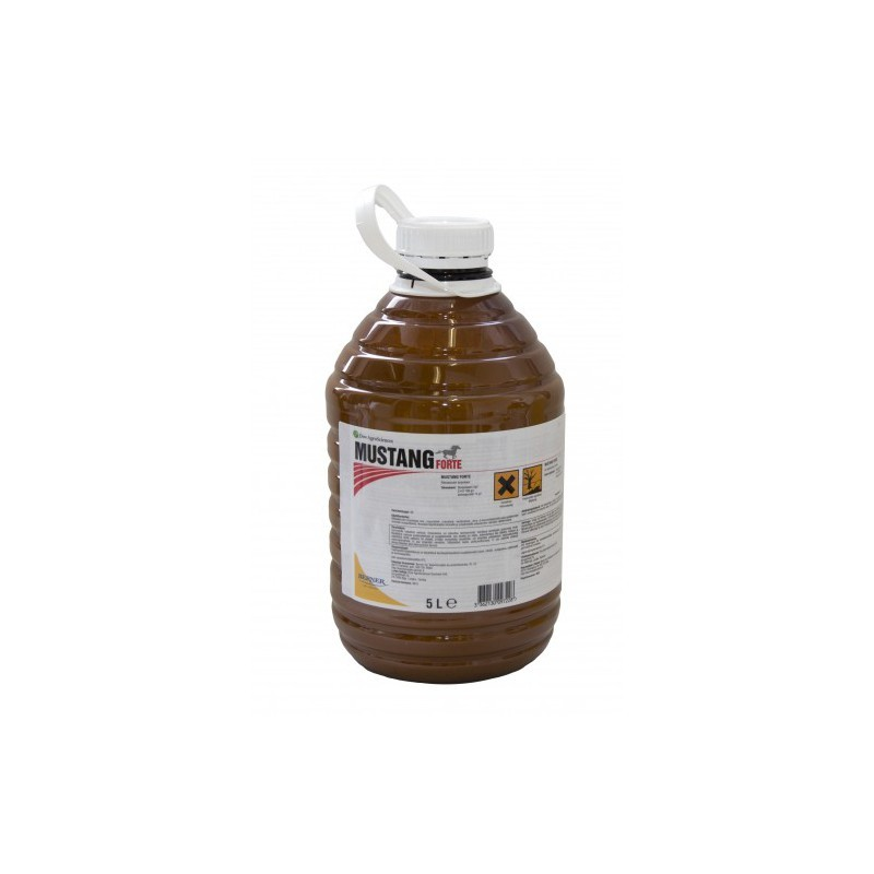 Mustang Forte - najlepší herbicíd proti dvojklíčnolistovým burinám v obilninách